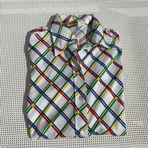 Vintage JCPenny Button Down Long Sleeve Shirt